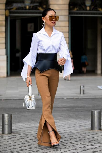 Стильный образ модные брюки 02