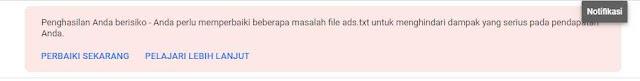 Pasang Ads.txt Blogger