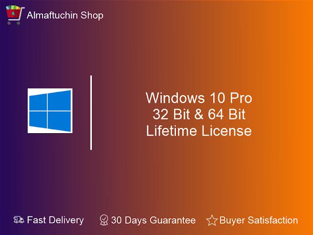 Original Genuine Windows 10 Professional PRO 32 Bit & 64 Bit