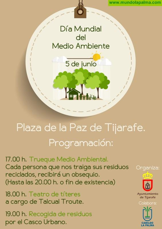 Tijarafe celebra el Día Mundial del Medio Ambiente con diferentes actividades