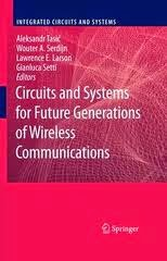 Download Circuits and Systems for future generations of wireless communications