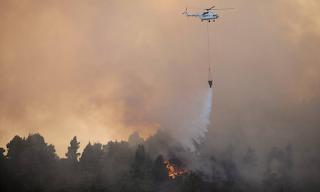Φωτιά στην Εύβοια - Μεγάλη πυρκαγιά στην Αγριλίτσα: Ενισχύθηκαν οι πυροσβεστικές δυνάμεις
