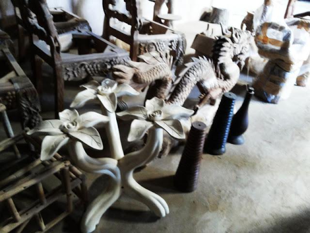 Hasil Karya Seni Patung dan Relief Pengrajin Mebel Jepara