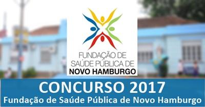 Concurso FSNH 2017 - Agente Comunitário de Saúde