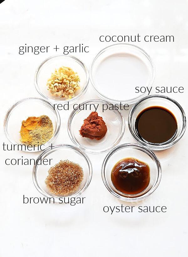 ingredients to marinate chicken