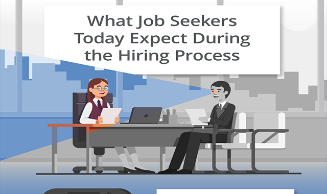 What Job Seekers Today Expect During the Hiring Process #infographic
