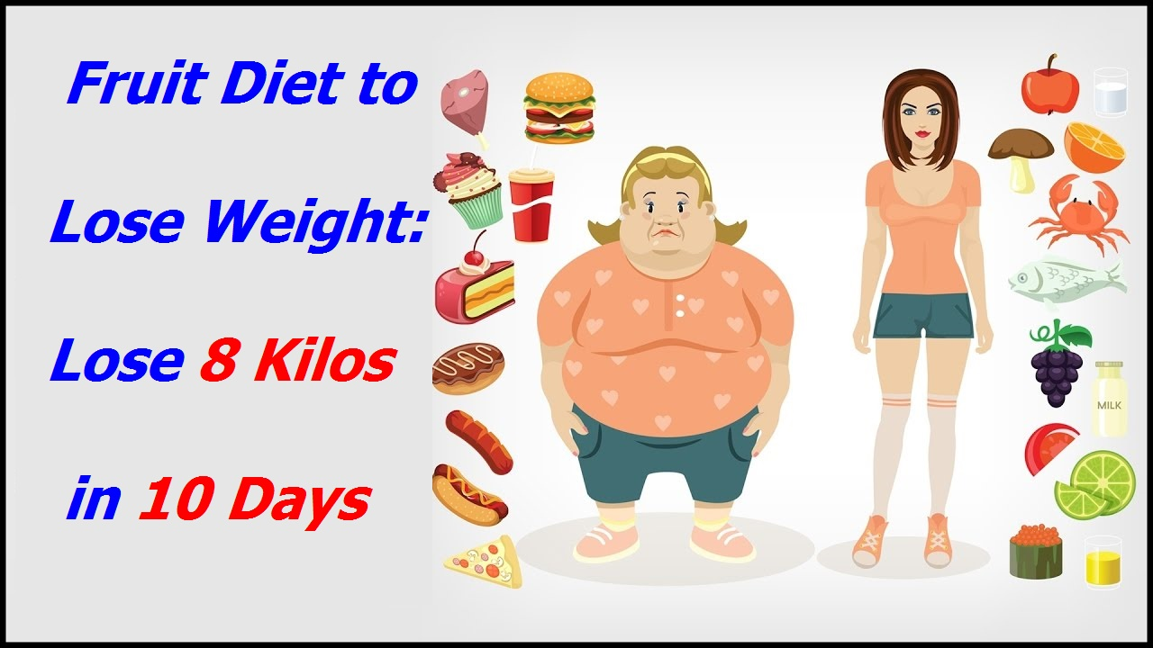 New Fruit Diet To Lose Weight Lose 8 Kilos In 10 Days Dieting