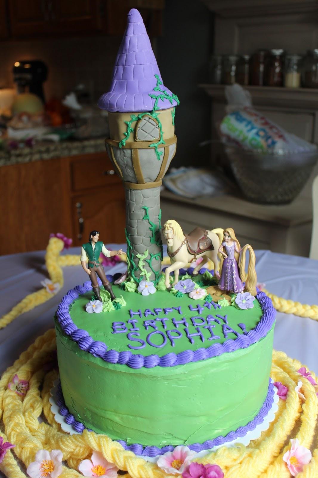 Kate S Frocks Rapunzel Birthday Cake
