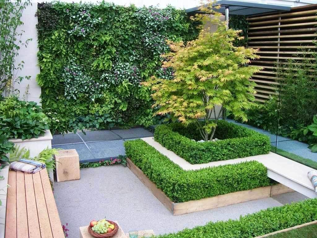Taman Minimalis Sudut Depan Rumah
