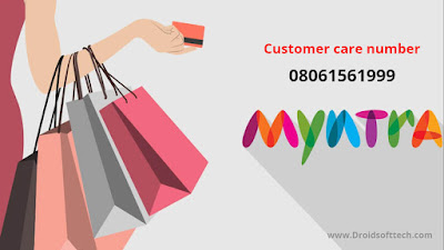 Customer care number of Myntra