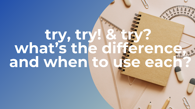 try, try! & try? what's the difference, and when to use each in swift?