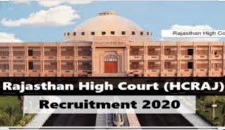 Rajasthan HC Chauffeur DriverFor 2020
