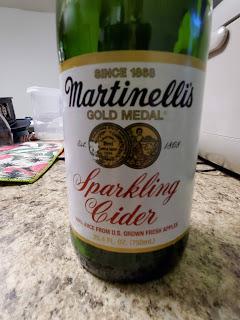 Photo of Martinelli's Sparkling Cider Label