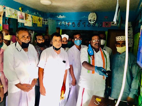 Kerala, News, Muslim leage, Delambady, Tv, Rajmohan unnithan, tv installed by muslim leage