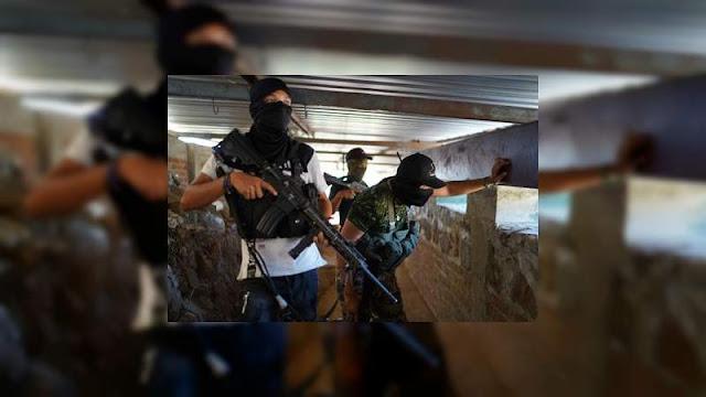 El Cártel de Tepalcatepec no puede contra El CJNG un convoy los sorprendió tras bajar de la sierra y piden ayuda  autoridades