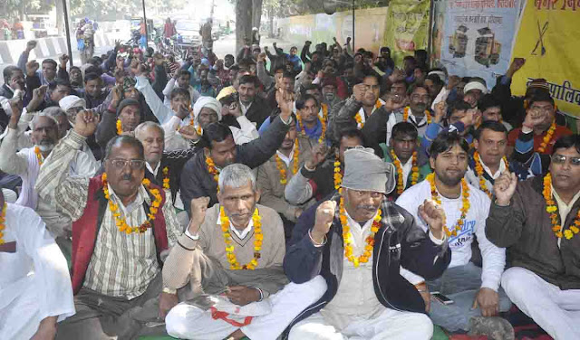 Movement on the 42nd day for the demands of municipal corporation