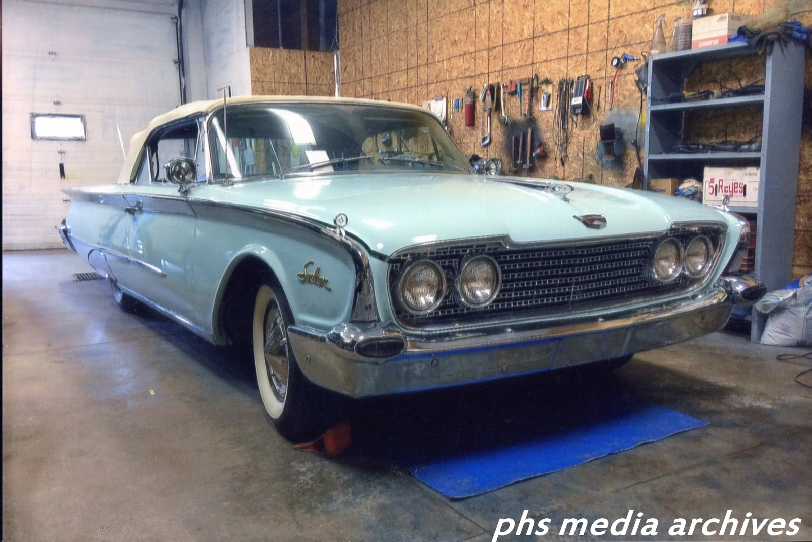 Readers Rides 1960 Ford Sunliner Convertible Bj Davis Wiring Diagram For Edsel V8 All Models Stunning Blue Is Owned By In Trenton Ontario