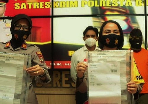 Polisi Amankan Pemalsu Surat Rapid Test di Bandara Hang Nadim Batam