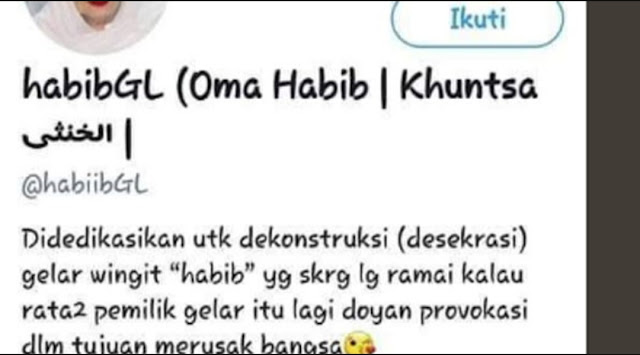 FKBNU Laporkan Akun Twitter Penghina Habib Luthfi ke Polda Jateng