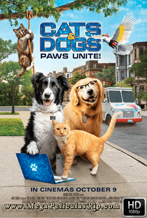 Como Perros Y Gatos 3: ¡Todos A Una! [1080p] [Latino-Ingles] [MEGA]