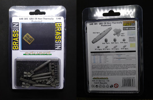 Review - Eduard Brassin 1/48 GBU-38 Non-Thermally Protected Bomb
