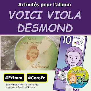 Activities for Voici Viola Desmond
