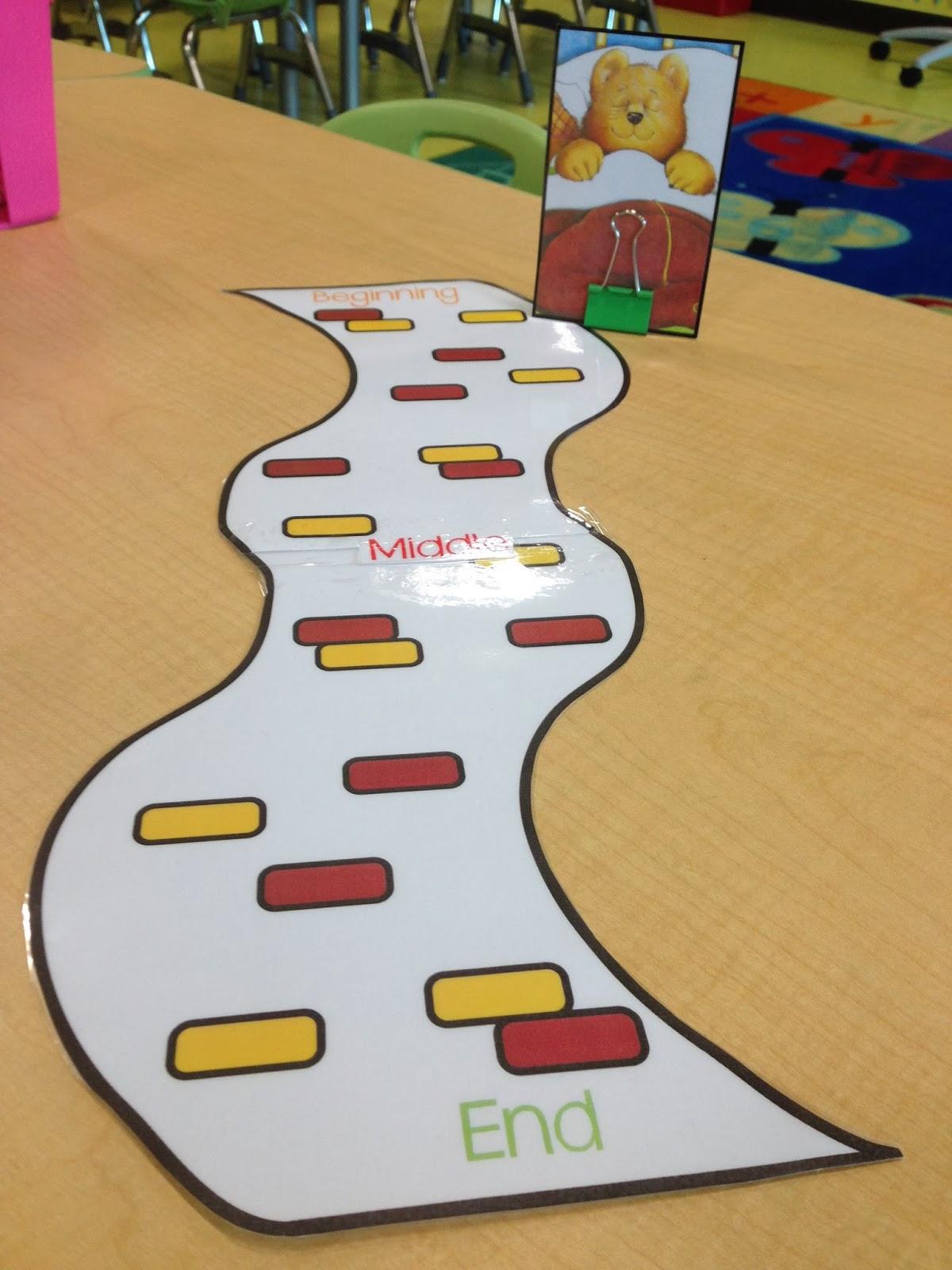 Story Retelling Literacy Center