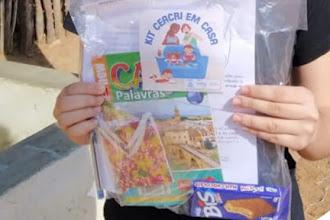 """OSC Ceacri realizou a entrega do Kit """"Ceacri em Casa"""" para adolescentes e jovens inscritos na instituição"""