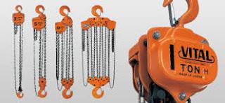 Jual Takel Chain Block Hoist Vital Terlengkap