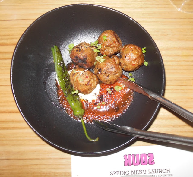 Souk, Melbourne CBD, Adana meatballs