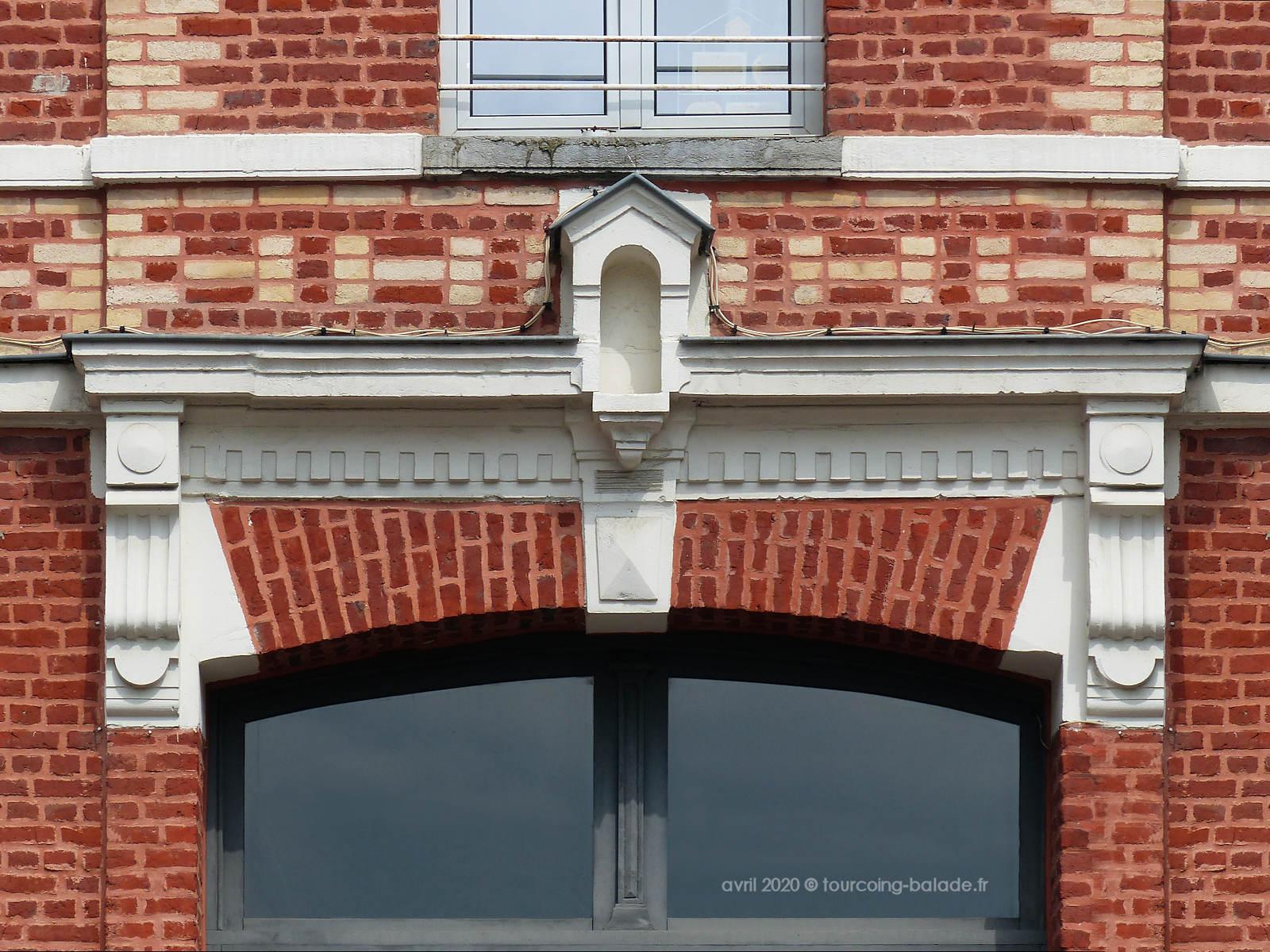 Niche Tourcoing, Rue de Lille, 2020
