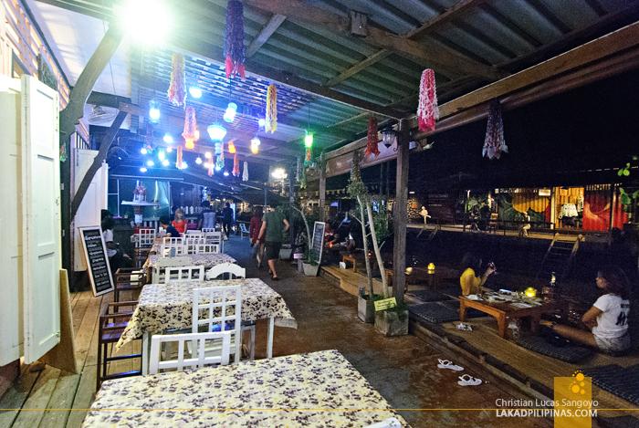 Amphawa Floating Market River Bank