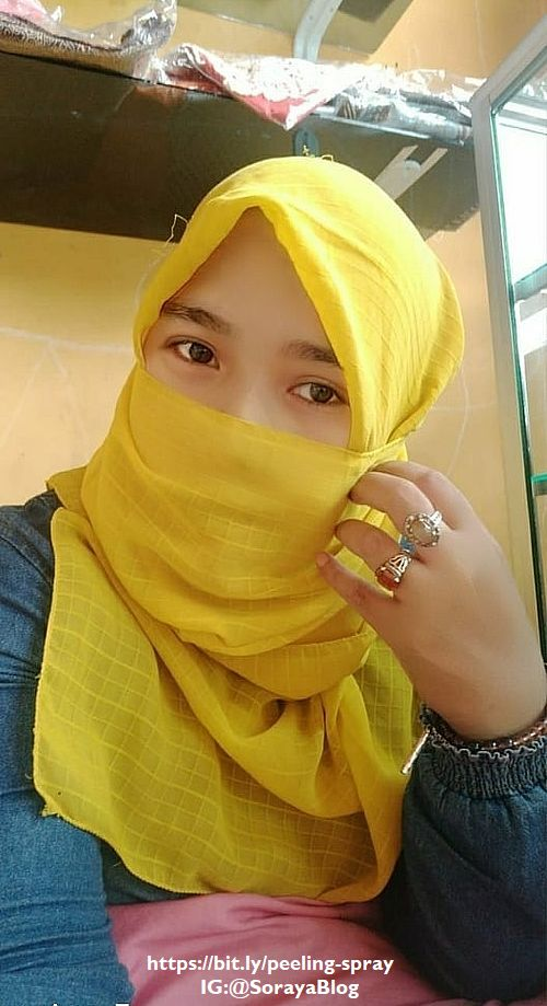 foto soraya wanita memakai cadar jilbab