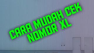 cek nomor xl