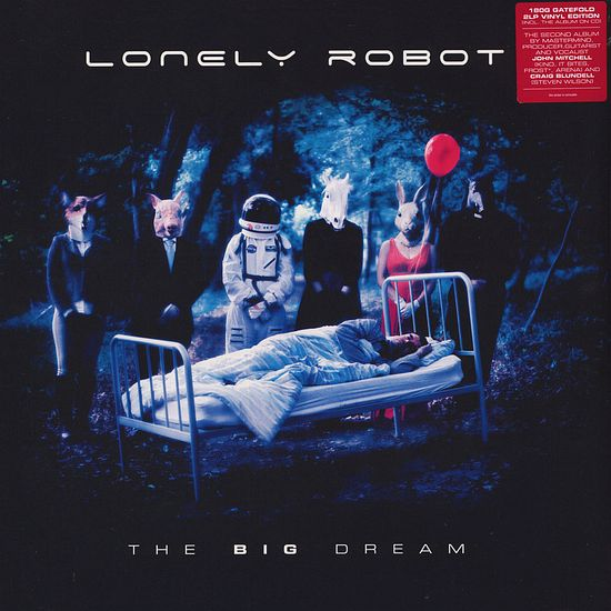LONELY ROBOT - The Big Dream [Digipak +3] (2017) full
