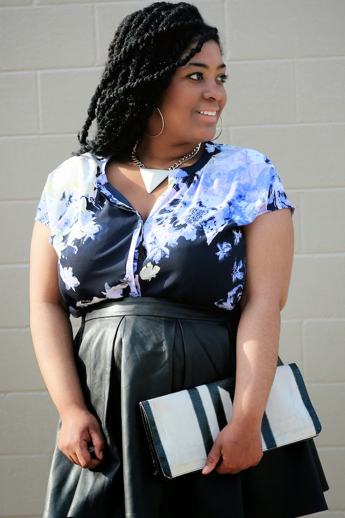 cbc6d452292 If you re not familiar it s a new plus size line offered at Target. This  floral top is actually part of a two piece set