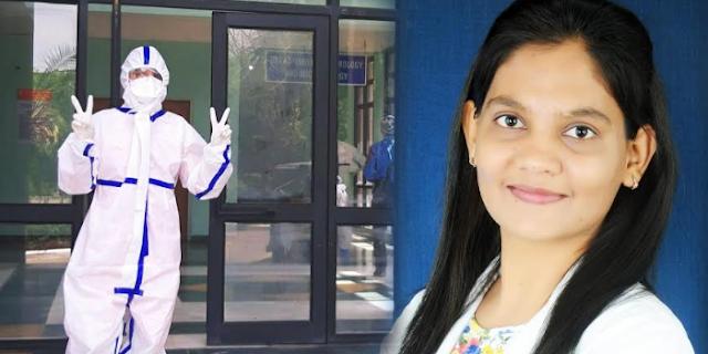कोरोना महामारी से बचाव के लिए BHOPAL की डेंटिस्ट डॉ स्वप्निल ठाकुर भी दे रहीं अपना योगदान