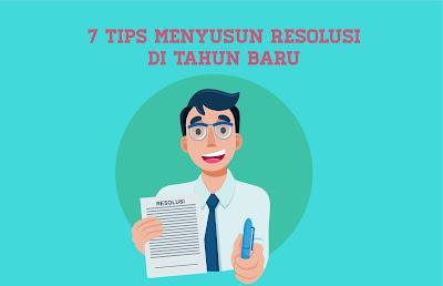 7 Tips Menyusun Resolusi di Tahun Baru