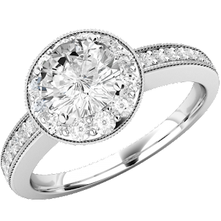 Round Brilliant Cut Engagement Rings Are Never Out Of Style