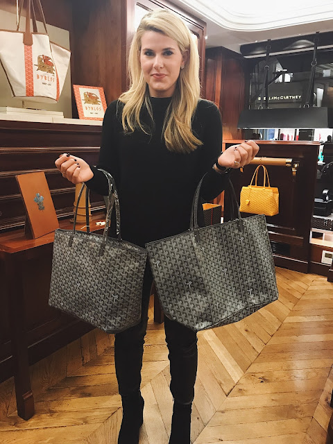 Goyard Anjou MM vs. Goyard GM
