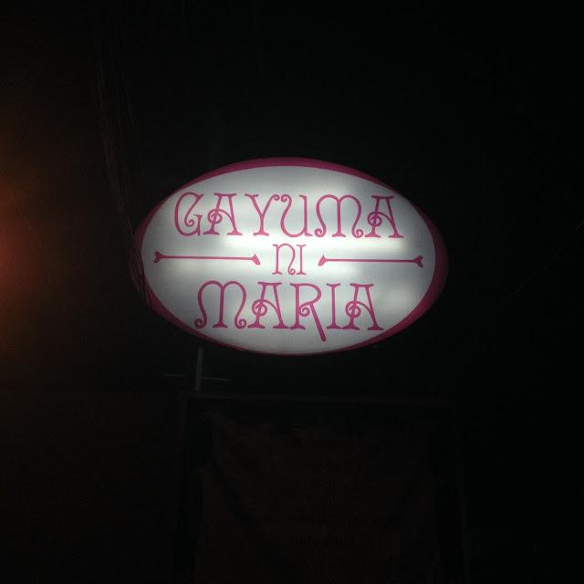 Gayuma ni Maria Restaurant