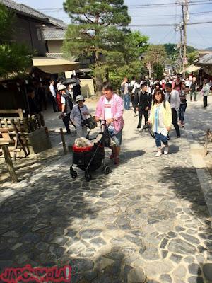 Salida del Templo GinkakuJi