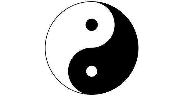 Yin Yang Symbol Text Copy And Paste - Texte Préféré
