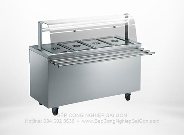 tủ giữ nóng thức ăn theo yêu cầu