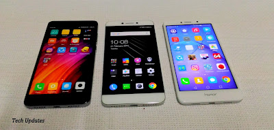 Xiaomi Redmi Note 4 vs Coolpad Cool 1 vs Honor 6X