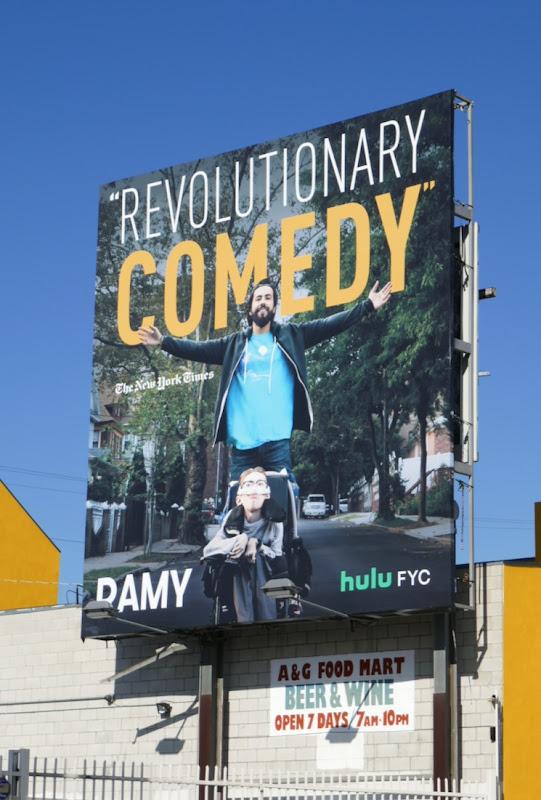 Ramy 2019 Hulu FYC billboard