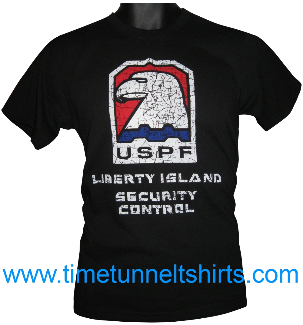 9c354f40 Escape from New York t-shirt (Liberty Island) | TIME TUNNEL T SHIRTS