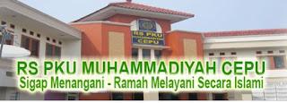 Jadwal Dokter RS PKU Muhammdiyah Cepu