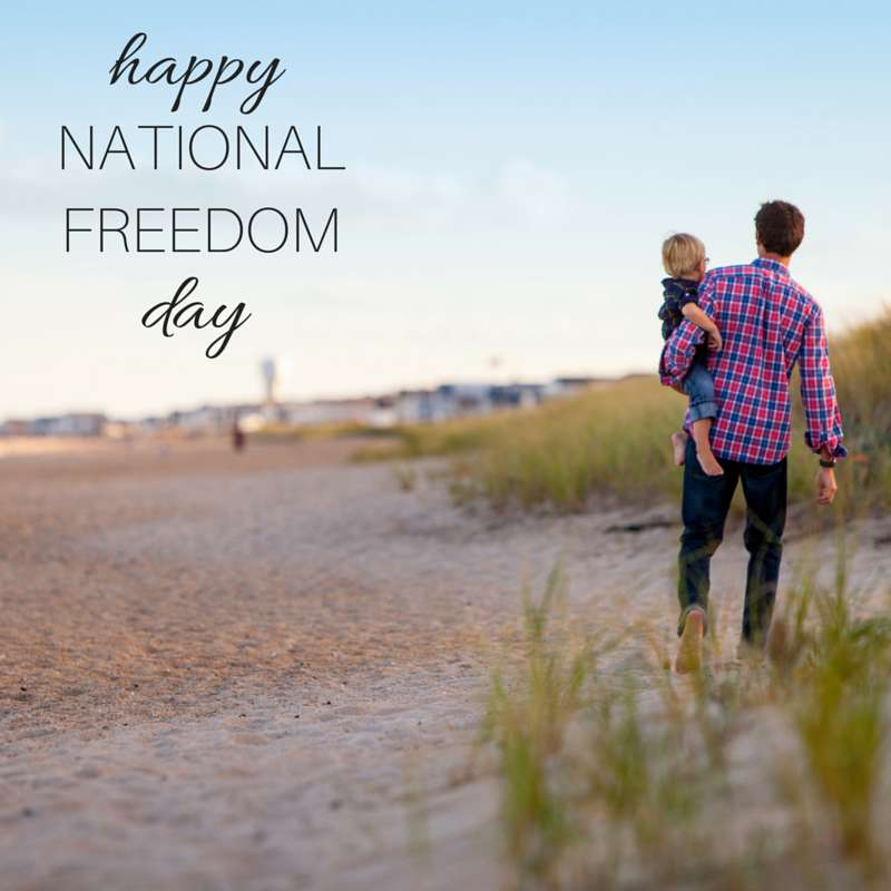 National Freedom Day Wishes Photos