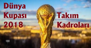 2018 dünya kupası, world cup 2018, dünya kupası grupları, dünya kupası takım kadroları 2018, 2018 dünya kupası takım kadroları, d grubu takım kadroları, arjanti, hırvatistan, nijerya, izlanda